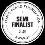 James Beard Semi Finalist